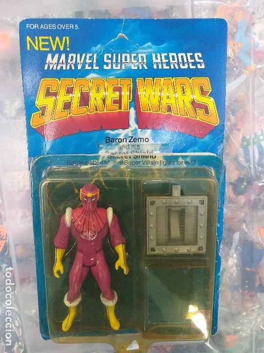 Figuras y Muñecos Secret Wars: figura de accion baron zemo secret wars blister americano con burbuja y escudo marvel - Foto 12 - 206824256