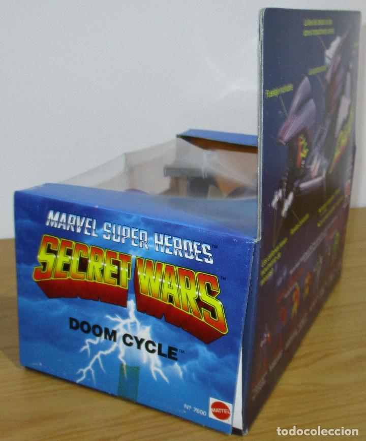 Figuras y Muñecos Secret Wars: SECRET WARS DOOM CYCLE, MATTEL / CONGOST 1985, nuevo, en perfecto estado - Foto 3 - 208596067