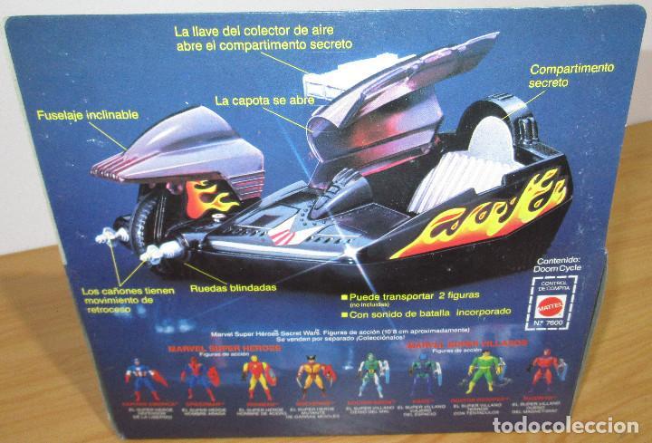 Figuras y Muñecos Secret Wars: SECRET WARS DOOM CYCLE, MATTEL / CONGOST 1985, nuevo, en perfecto estado - Foto 4 - 208596067