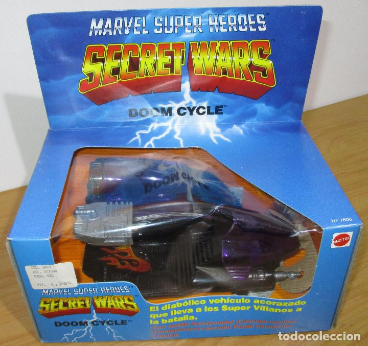 SECRET WARS DOOM CYCLE, MATTEL / CONGOST 1985, NUEVO, EN PERFECTO ESTADO (Juguetes - Figuras de Acción - Secret Wars)