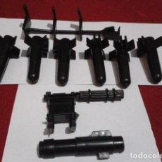 Figuras y Muñecos Secret Wars: LOTE 9 ACCESORIOS HELICOPTERO ( SECRET WARS ) MATTEL ( DOOM - COPTER ) 6 MISILES + SOPORTE + 2 ARMAS. Lote 209721512