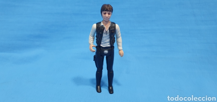 HAN SOLO FIGURA STAR WARS - GMFGI 1977 - MADE IN HONG KONG KENNER (Juguetes - Figuras de Acción - Secret Wars)