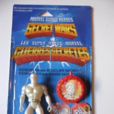 Figuras y Muñecos Secret Wars: MARVEL SECRET WARS ICEMAN COMPLETO + CARD MATTEL FRANCE 1984. Lote 218901773