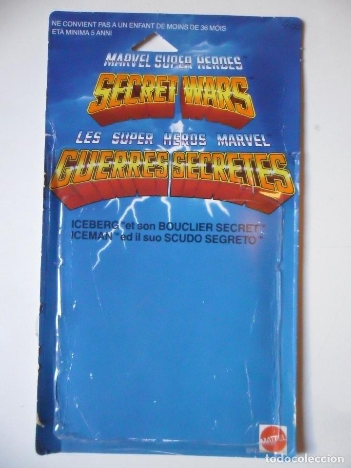 Figuras y Muñecos Secret Wars: MARVEL SECRET WARS ICEMAN COMPLETO + CARD MATTEL FRANCE 1984 - Foto 3 - 218901773