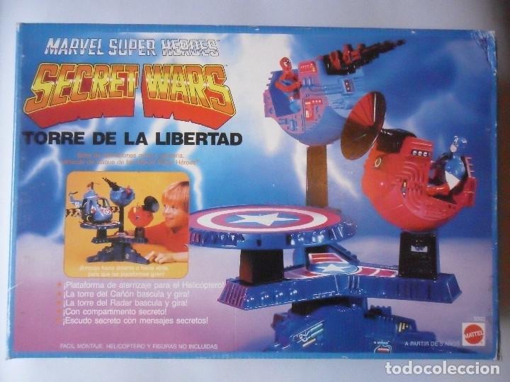MARVEL SECRET WARS TORRE DE LA LIBERTAD MATTEL ESPAÑA 1985 (Juguetes - Figuras de Acción - Secret Wars)