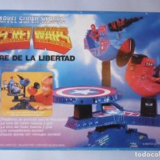 Figuras y Muñecos Secret Wars: MARVEL SECRET WARS TORRE DE LA LIBERTAD MATTEL ESPAÑA 1985. Lote 219208051