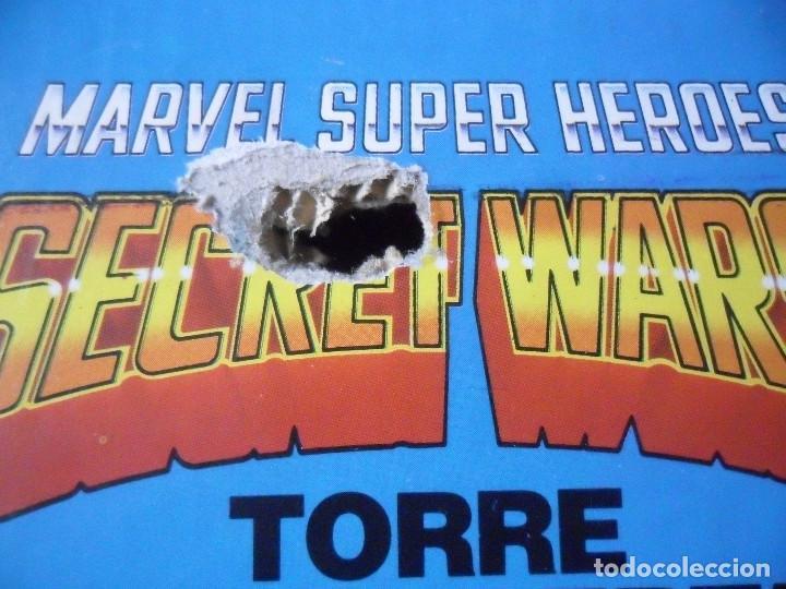 Figuras y Muñecos Secret Wars: MARVEL SECRET WARS TORRE DE LA LIBERTAD MATTEL ESPAÑA 1985 - Foto 5 - 219208051