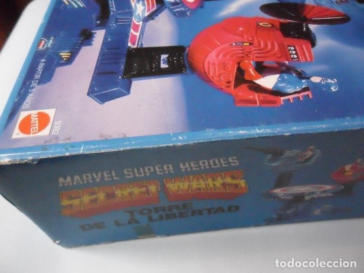 Figuras y Muñecos Secret Wars: MARVEL SECRET WARS TORRE DE LA LIBERTAD MATTEL ESPAÑA 1985 - Foto 10 - 219208051