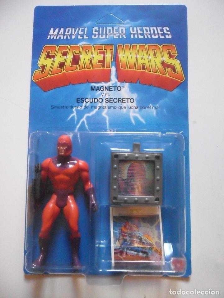 MARVEL SECRET WARS MAGNETO MATTEL ESPAÑA 1985 (Juguetes - Figuras de Acción - Secret Wars)