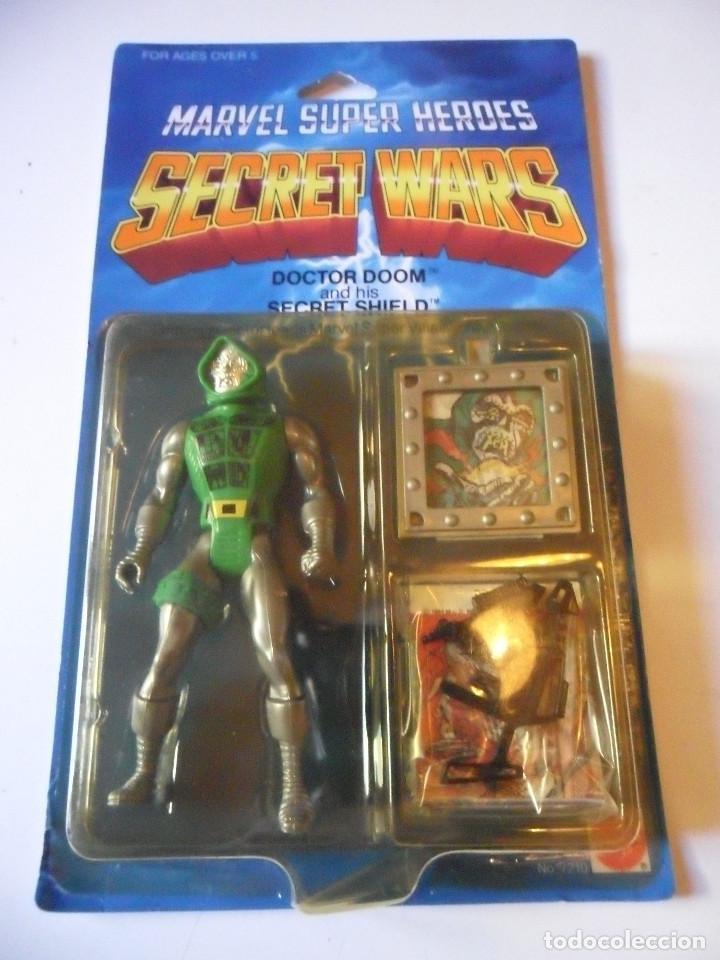 MARVEL SECRET WARS DOCTOR DOOM EN BLISTER MATTEL 1984 (Juguetes - Figuras de Acción - Secret Wars)
