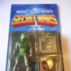Figuras y Muñecos Secret Wars: MARVEL SECRET WARS DOCTOR DOOM EN BLISTER MATTEL 1984. Lote 219856858