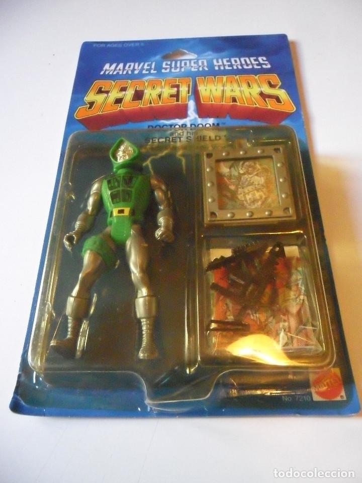 Figuras y Muñecos Secret Wars: MARVEL SECRET WARS DOCTOR DOOM EN BLISTER MATTEL 1984 - Foto 2 - 219856858