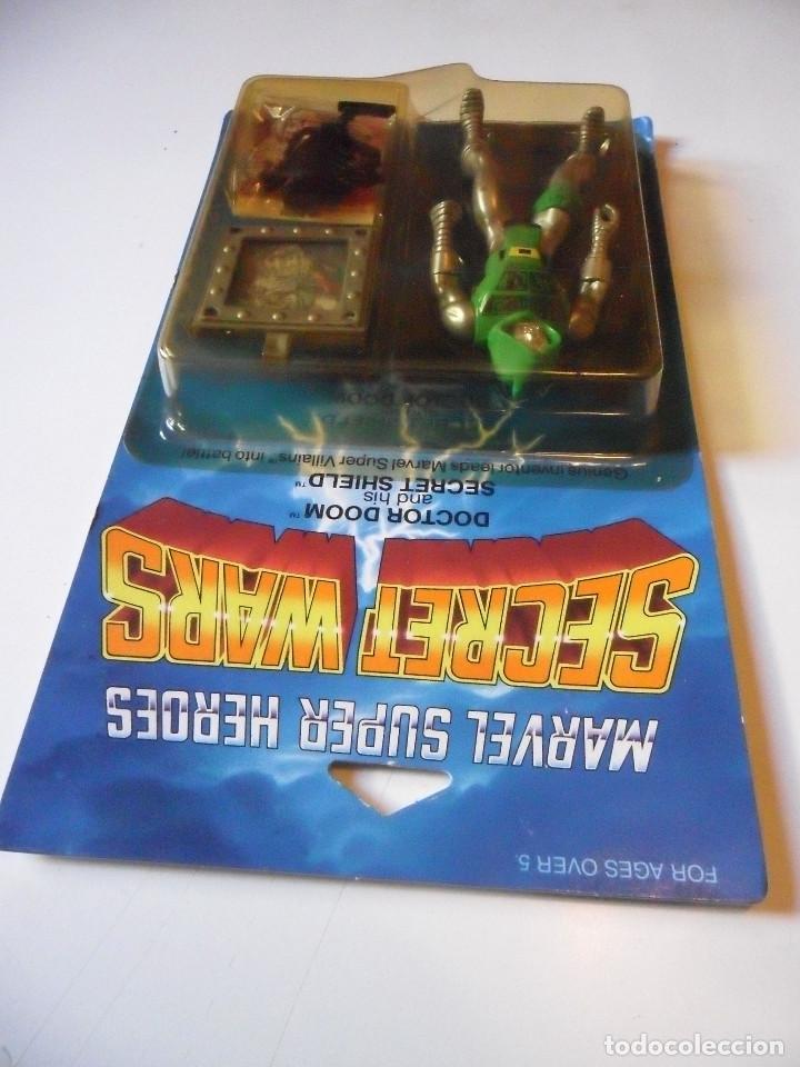 Figuras y Muñecos Secret Wars: MARVEL SECRET WARS DOCTOR DOOM EN BLISTER MATTEL 1984 - Foto 3 - 219856858