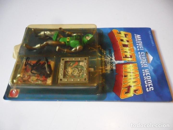 Figuras y Muñecos Secret Wars: MARVEL SECRET WARS DOCTOR DOOM EN BLISTER MATTEL 1984 - Foto 4 - 219856858