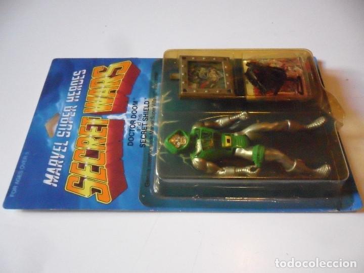 Figuras y Muñecos Secret Wars: MARVEL SECRET WARS DOCTOR DOOM EN BLISTER MATTEL 1984 - Foto 5 - 219856858
