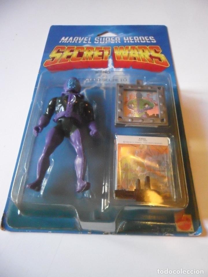 Figuras y Muñecos Secret Wars: MARVEL SECRET WARS KANG BLISTER SEGUNDA EDICION ESPAÑA MATTEL 1984 - Foto 6 - 219857318