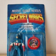 Figuras y Muñecos Secret Wars: SECRET WARS - CAPITAN AMERICA Y SU ESCUDO SECRETO. Lote 222160028
