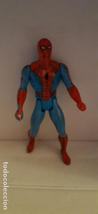 FIGURA DE SPIDERMAN. SECRET WARS. MARVEL MATTEL. (Juguetes - Figuras de Acción - Secret Wars)