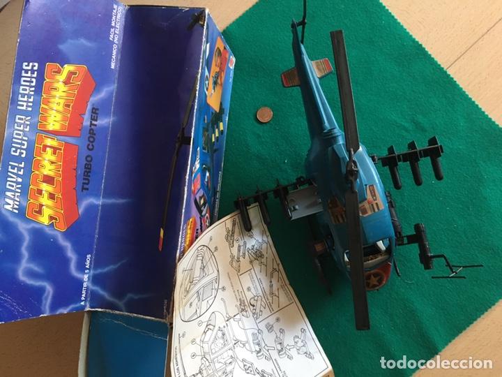 Figuras y Muñecos Secret Wars: SECRET WARS - Turbo Copter - Mattel 1986 - Foto 3 - 222717316
