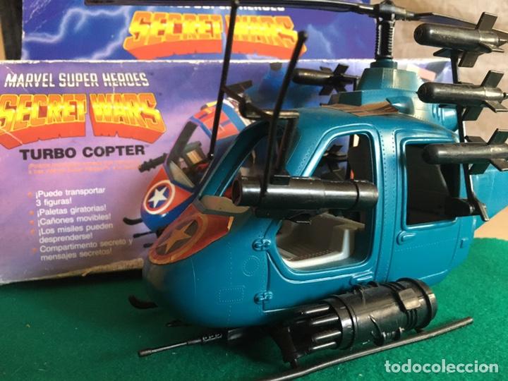 Figuras y Muñecos Secret Wars: SECRET WARS - Turbo Copter - Mattel 1986 - Foto 7 - 222717316