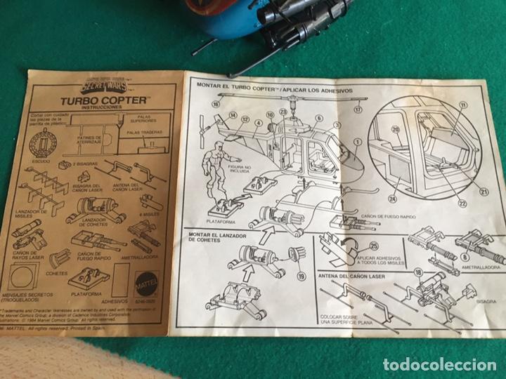 Figuras y Muñecos Secret Wars: SECRET WARS - Turbo Copter - Mattel 1986 - Foto 8 - 222717316