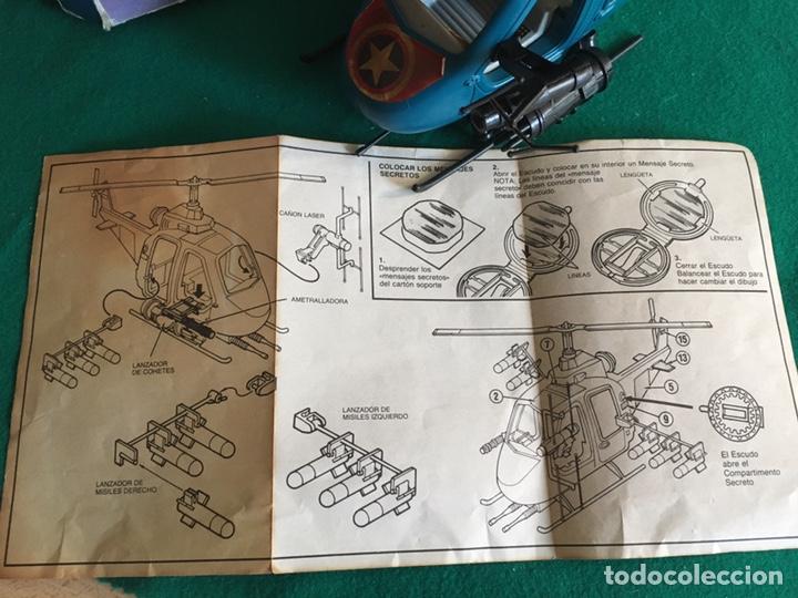 Figuras y Muñecos Secret Wars: SECRET WARS - Turbo Copter - Mattel 1986 - Foto 9 - 222717316