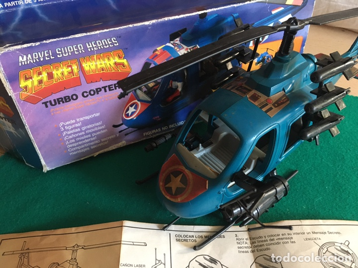Figuras y Muñecos Secret Wars: SECRET WARS - Turbo Copter - Mattel 1986 - Foto 10 - 222717316