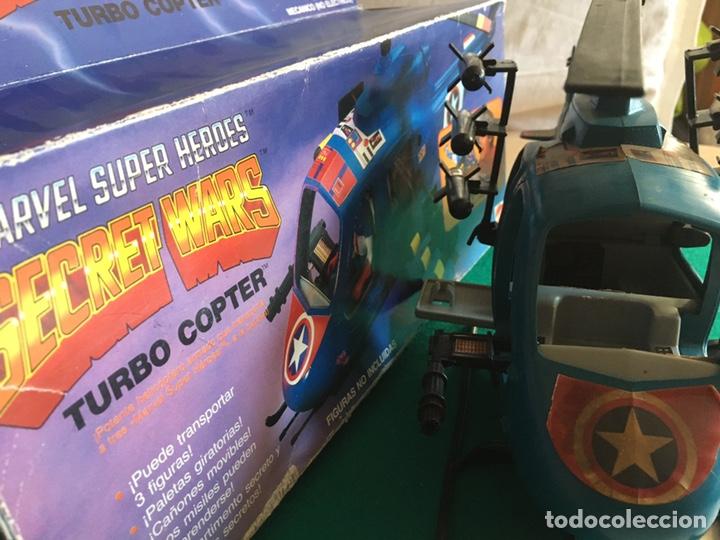 Figuras y Muñecos Secret Wars: SECRET WARS - Turbo Copter - Mattel 1986 - Foto 11 - 222717316