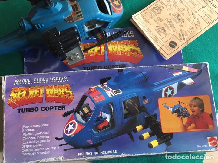 Figuras y Muñecos Secret Wars: SECRET WARS - Turbo Copter - Mattel 1986 - Foto 12 - 222717316