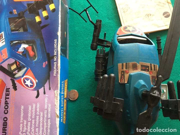 Figuras y Muñecos Secret Wars: SECRET WARS - Turbo Copter - Mattel 1986 - Foto 15 - 222717316