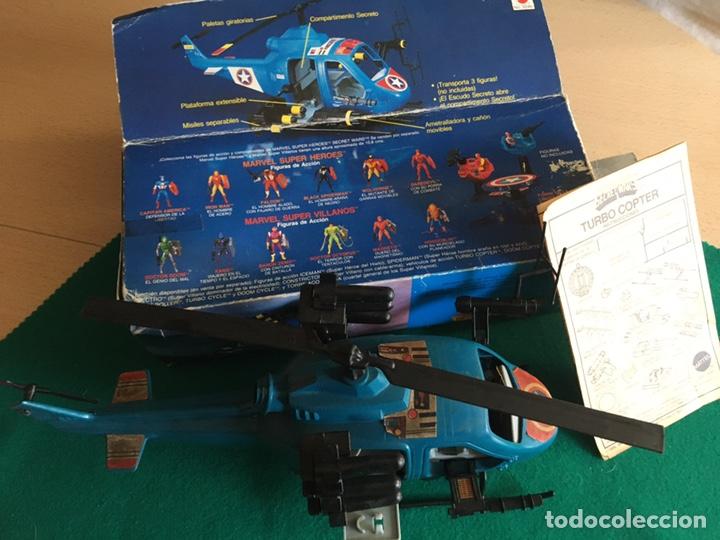 Figuras y Muñecos Secret Wars: SECRET WARS - Turbo Copter - Mattel 1986 - Foto 19 - 222717316