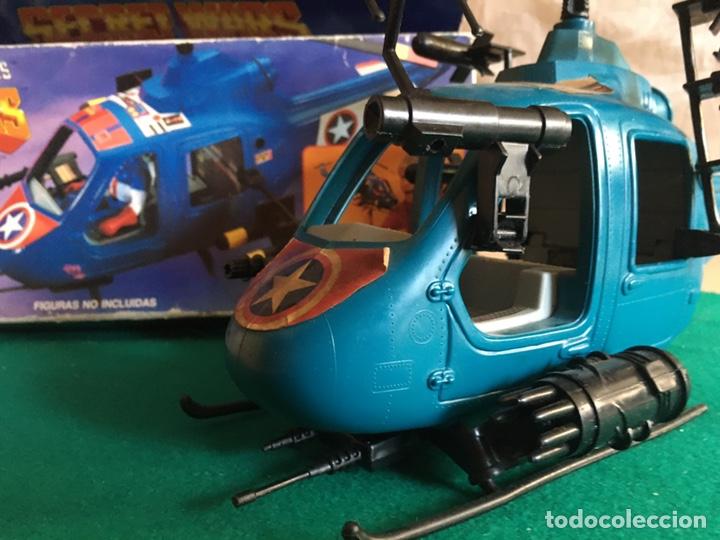 Figuras y Muñecos Secret Wars: SECRET WARS - Turbo Copter - Mattel 1986 - Foto 20 - 222717316