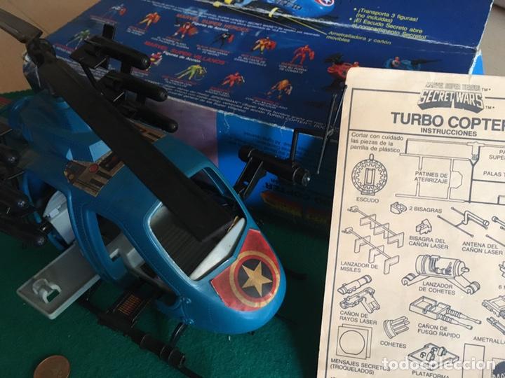 Figuras y Muñecos Secret Wars: SECRET WARS - Turbo Copter - Mattel 1986 - Foto 22 - 222717316