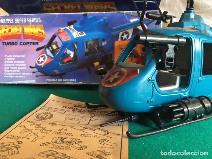 Figuras y Muñecos Secret Wars: SECRET WARS - Turbo Copter - Mattel 1986 - Foto 23 - 222717316