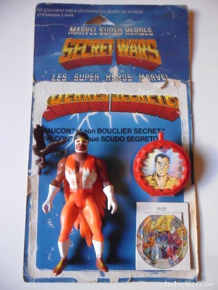MARVEL SECRET WARS FALCON COMPLETO MATTEL FRANCE 1984 (Juguetes - Figuras de Acción - Secret Wars)