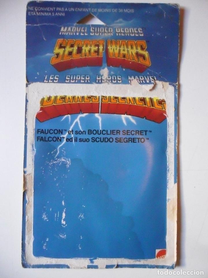 Figuras y Muñecos Secret Wars: MARVEL SECRET WARS FALCON COMPLETO MATTEL FRANCE 1984 - Foto 10 - 223263041