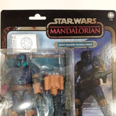 Figuras e Bonecos Secret Wars: FIGURA HEAVY INFANTRY THE MANDALORIAN BLACK SERIES CREDIT COLLECTION STAR WARS. Lote 225136910