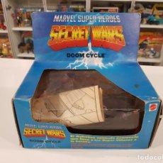 Figuras y Muñecos Secret Wars: SECRET WARS - MARVEL SUPER HEROES - DOOM CYCLE - MATTEL 1984 - ABIERTA. Lote 229991000