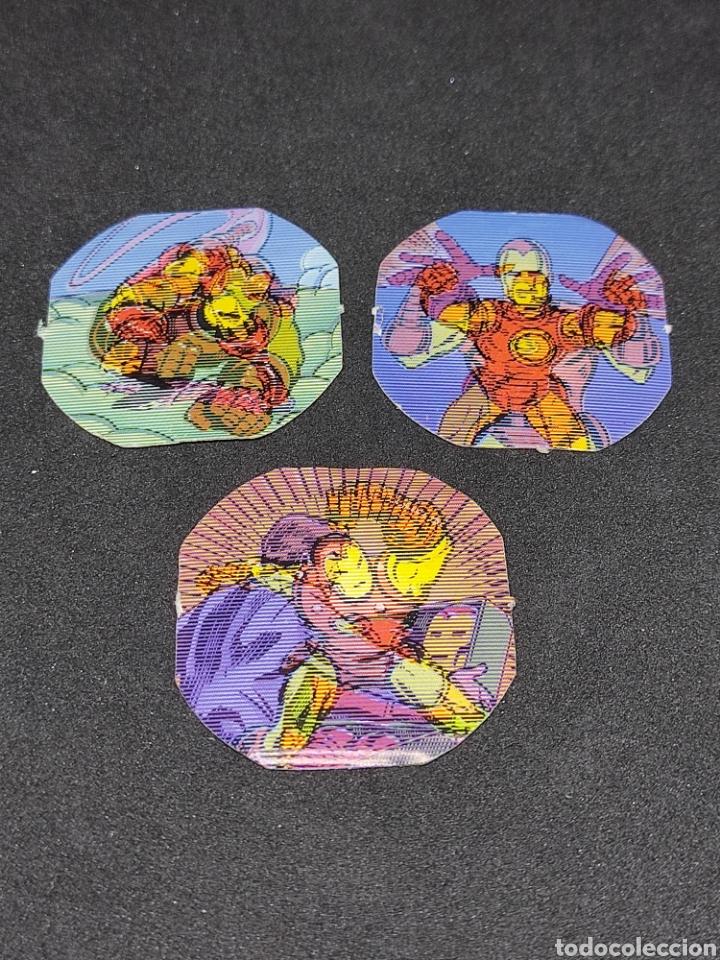 MARVEL SECRET WARS 3 HOLOGRAMAS DE IRON MAN - MATTEL - (Juguetes - Figuras de Acción - Secret Wars)