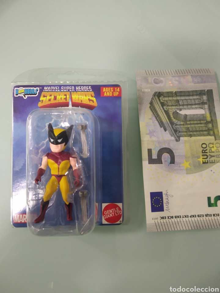 Figuras y Muñecos Secret Wars: Secret Wars X-Men Wolverine Micro Bobbles por Gentle Giant Marvel Super Heroes LOBEZNO - Foto 2 - 233010805