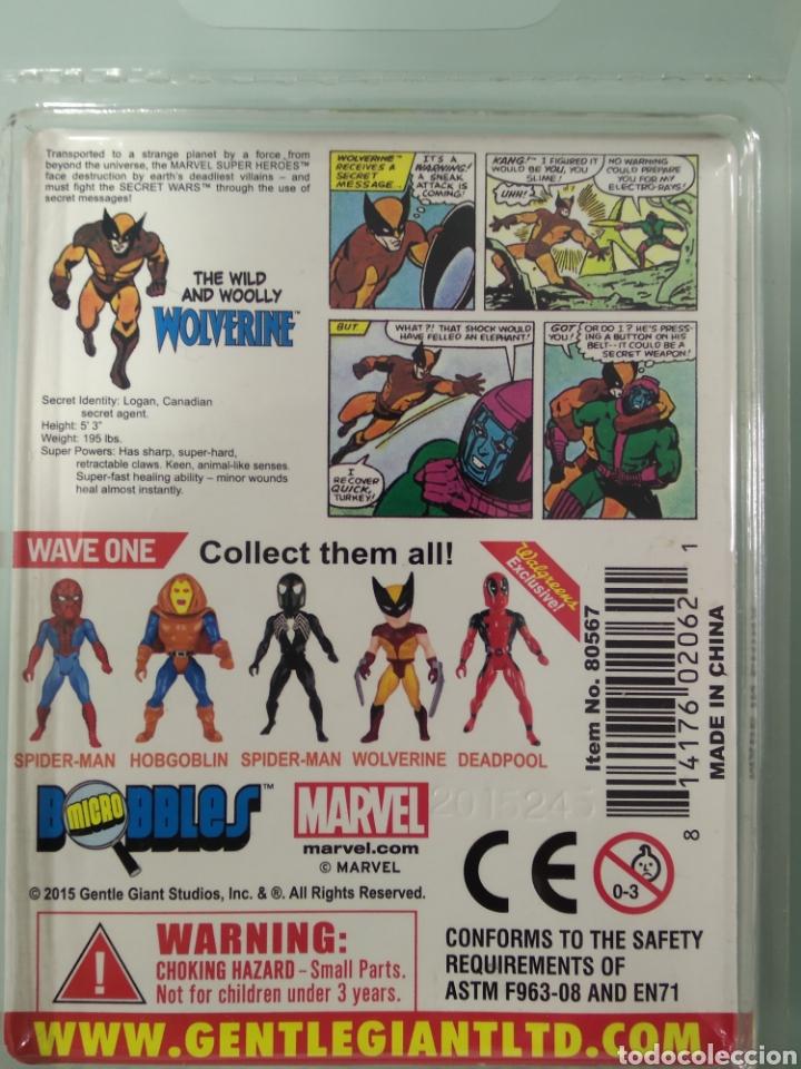 Figuras y Muñecos Secret Wars: Secret Wars X-Men Wolverine Micro Bobbles por Gentle Giant Marvel Super Heroes LOBEZNO - Foto 4 - 233010805