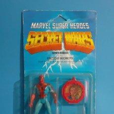 Figuras y Muñecos Secret Wars: BLISTER SPIDERMAN SECRET WARS. CONGOST . MATTEL 1985.. Lote 236045645