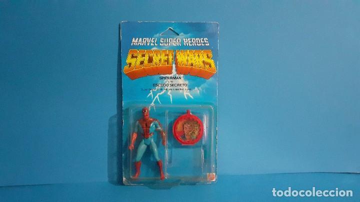 Figuras y Muñecos Secret Wars: Blister Spiderman Secret wars. Congost . Mattel 1985. - Foto 2 - 236045645