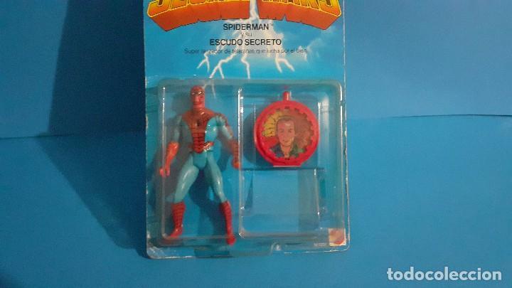 Figuras y Muñecos Secret Wars: Blister Spiderman Secret wars. Congost . Mattel 1985. - Foto 4 - 236045645