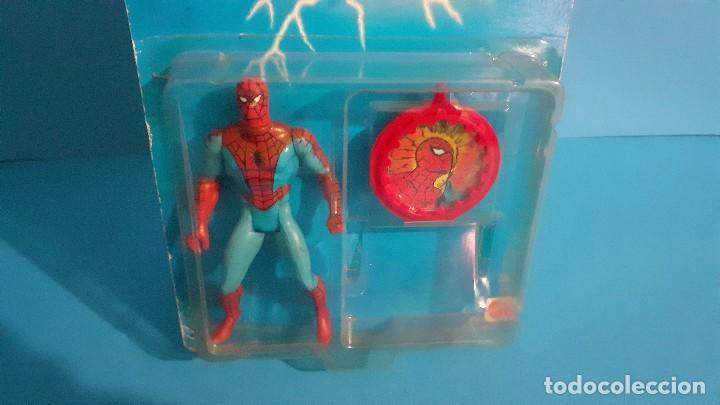 Figuras y Muñecos Secret Wars: Blister Spiderman Secret wars. Congost . Mattel 1985. - Foto 5 - 236045645