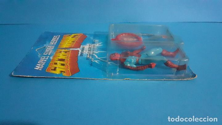 Figuras y Muñecos Secret Wars: Blister Spiderman Secret wars. Congost . Mattel 1985. - Foto 9 - 236045645