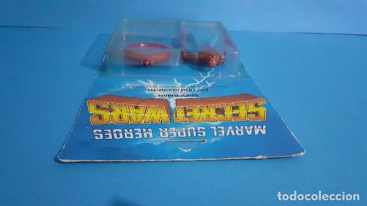Figuras y Muñecos Secret Wars: Blister Spiderman Secret wars. Congost . Mattel 1985. - Foto 13 - 236045645