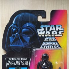 Figuras e Bonecos Secret Wars: STAR WARS POWER OF THE FORCE TIE FIGHTER PILOT POTF HASBRO NUEVO MOC. Lote 241495050