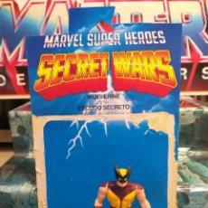 Figurines et Jouets Secret Wars: FIGURA DE ACCION MARVEL SUPERHEROES SECRET WARS WOLVERINE LOBEZNO MATTEL VINTAGE AÑOS 80. Lote 242171335
