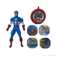 Figuras e Bonecos Secret Wars: FIGURA MARVEL SECRET WARS CAPTAIN AMERICA 1984. Lote 242424225